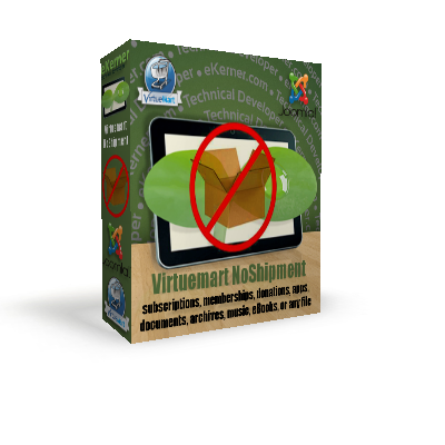 Virtuemart Non Shippable Products